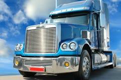 amerykańska autostradą ciężarówka gwiazdy Zdjęcia Stock