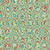 Amerykańska aztec abstrakcjonistyczna tekstura dla tkanina projekta ilustracji