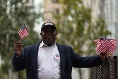 Amerykańska bohater parada zdjęcie stock
