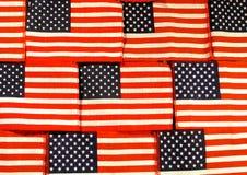 amerykańska flaga tło Zdjęcie Stock