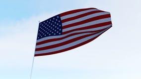 amerykańska flaga usa ilustracji