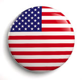 amerykańska flaga usa royalty ilustracja