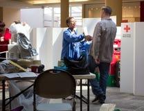 amerykańska krwi krzyża przejażdżki czerwień Zdjęcie Royalty Free