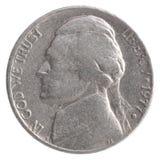 Amerykańska kwartalnego dolara moneta zdjęcia royalty free