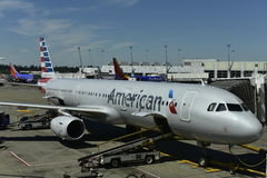 Amerykańska linia lotnicza Obraz Royalty Free