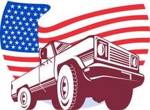 amerykańska pickup gwiazd ciężarówka Fotografia Stock