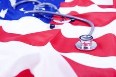 amerykańska pojęcia opieki zdrowotnej fotografia Zdjęcia Stock