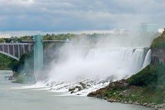 amerykańska spadek Niagara strona zdjęcia royalty free