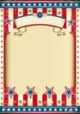 amerykańska tło flaga Fotografia Stock