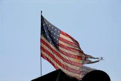 Amerykańska wojny światowa dwa flaga Obrazy Stock