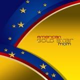 Amerykańska złoto gwiazdy mama Zdjęcie Royalty Free