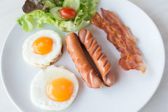 Amerykański śniadanie Zdjęcia Stock