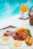 amerykański śniadanie Fotografia Stock