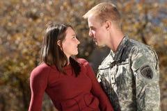 amerykański żołnierz Zdjęcia Royalty Free