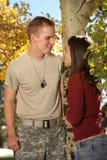 amerykański żołnierz Obrazy Stock