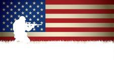 amerykański żołnierz Zdjęcia Stock