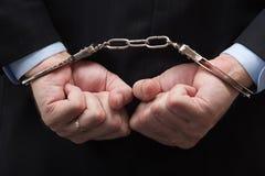 amerykański bankowa kołnierza przestępstwa biel Obraz Stock