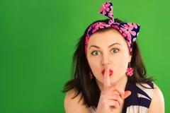 amerykański dziewczyny szpilki krótkopędu studia styl amerykański Fotografia Stock