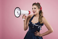 amerykański dziewczyny szpilki krótkopędu studia styl amerykański Zdjęcie Royalty Free
