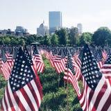 amerykański flagę Zdjęcie Stock