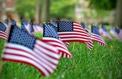 amerykański flagę Fotografia Royalty Free