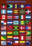 amerykański flagę również zwrócić corel ilustracji wektora Fotografia Royalty Free