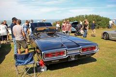 Amerykański klasyczny thunderbirda samochód Obrazy Royalty Free