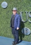 Amerykański muzyk, kompozytor i aktor, Paul Simon przy czerwonym chodnikiem przed us open 2016 mężczyzna ` s definitywnym dopasow Obraz Stock