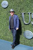 Amerykański muzyk, kompozytor i aktor, Paul Simon przy czerwonym chodnikiem przed us open 2016 mężczyzna ` s definitywnym dopasow Zdjęcie Stock