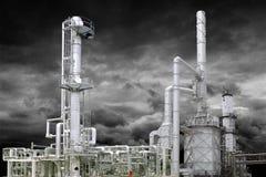 AMERYKAŃSKI NAFCIANEGO gazu przemysł rafineryjny Obrazy Stock
