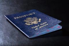amerykański paszport stany zjednoczone obywatelstwo, zdjęcia stock