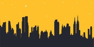 amerykański pejzaż miejski Obraz Royalty Free
