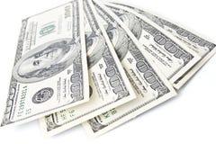 amerykański pieniądze Fotografia Royalty Free
