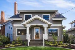 Amerykański rzemieślnika dom zdjęcie royalty free