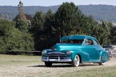 amerykański samochodowy klasyk obraz royalty free
