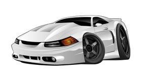 amerykański samochodowy nowożytny mięsień ilustracji
