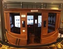 Amerykański stagecoach, muzealny pokaz obrazy royalty free
