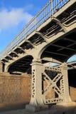 Amerykański stary żelazo most obrazy stock