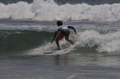 Amerykański surfingowa gryf Colapinto (1) współzawodniczy w Kalifornia Zdjęcia Royalty Free