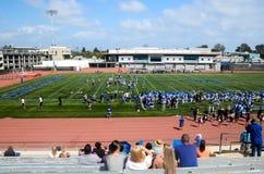 Amerykański szkoła wyższa futbol Fotografia Royalty Free