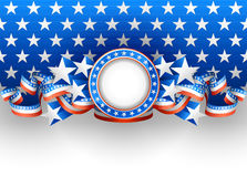 Amerykański tło Obrazy Royalty Free