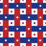 Amerykańskich seamles deseniowy tło Obraz Royalty Free