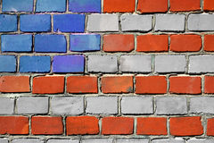 amerykańskie cegły Zdjęcie Stock