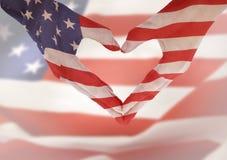 Amerykańskie ręki Fotografia Royalty Free