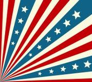 Amerykańskiego dnia niepodległości Patriotyczny tło ilustracji