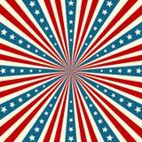 Amerykańskiego dnia niepodległości Patriotyczny tło royalty ilustracja