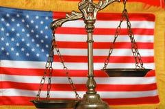 amerykańskiego prawa Fotografia Royalty Free
