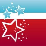 amerykańskiego tła barwione gwiazdy royalty ilustracja
