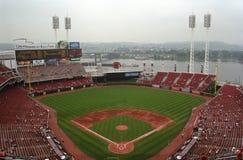 amerykańskiej piłki Cincinnati wielki park fotografia royalty free