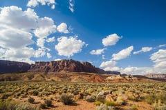 Amerykańskiej Południowej zachód pustyni Rockowa formacja obraz royalty free